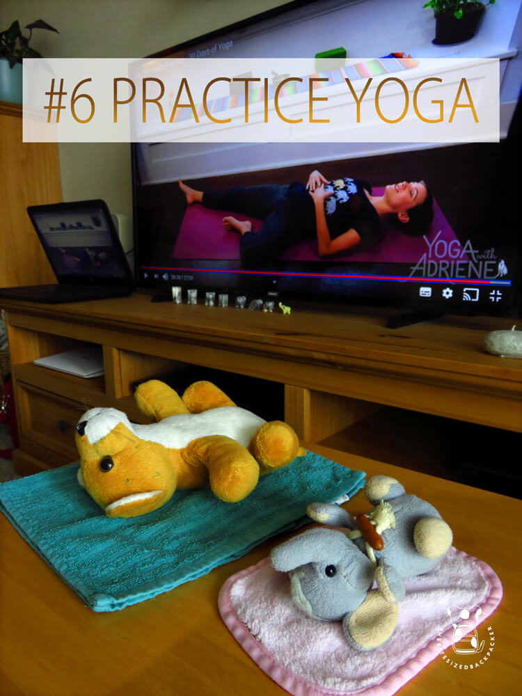 Leuke dingen om te doen tijdens de corona lockdown 06 - Beoefen yoga