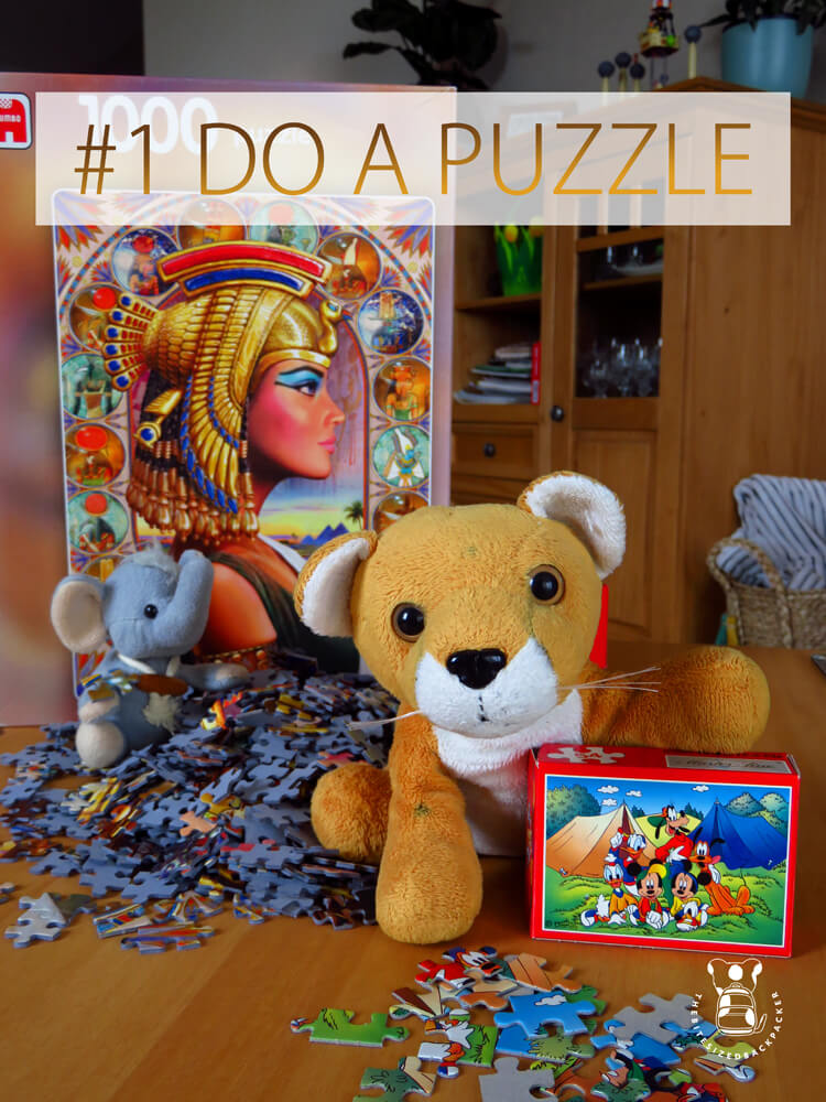 Things to do during Coronavirus lockdown 01 - Do a Puzzle