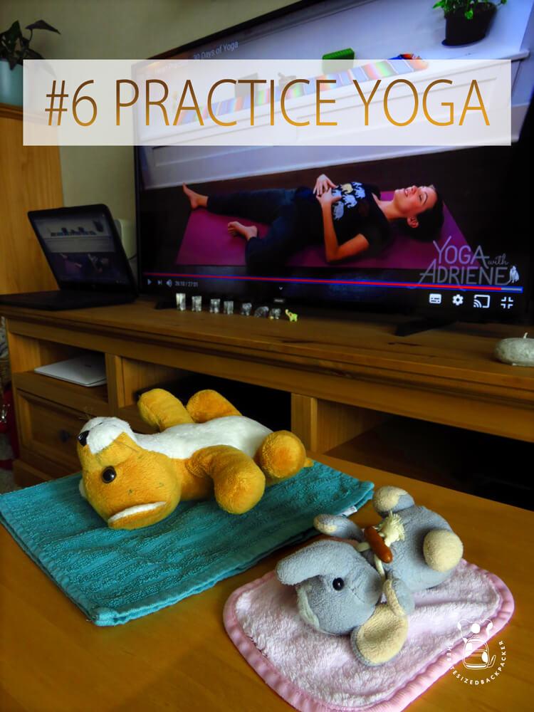 Things to do during Coronavirus lockdown 06 - Practice Yoga