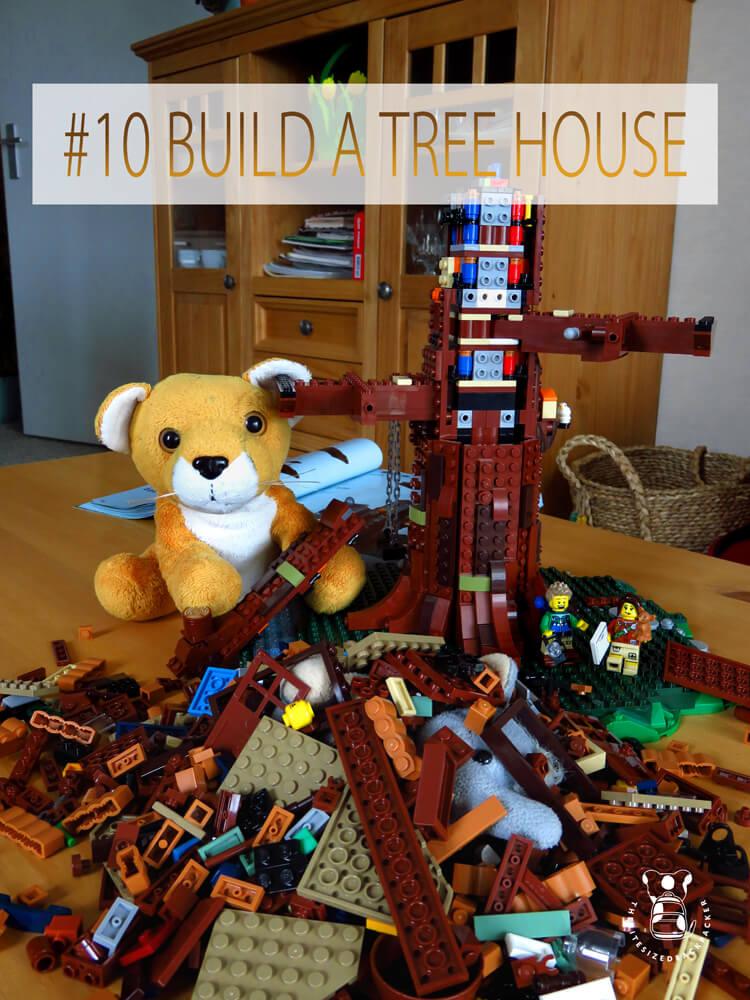Things to do during Coronavirus lockdown 10 - Build a Tree House