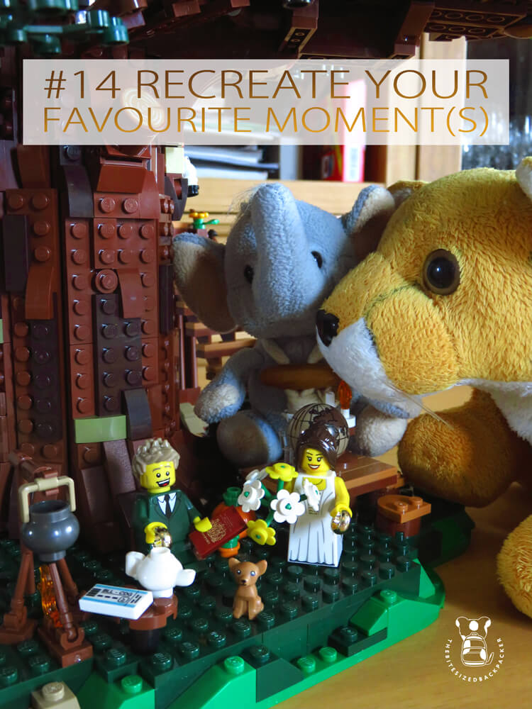 Things to do during Coronavirus lockdown 14 - Recreate your favourite moment(s)