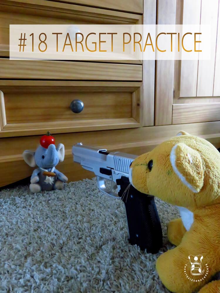 Things to do during Coronavirus lockdown 18 - Target practice