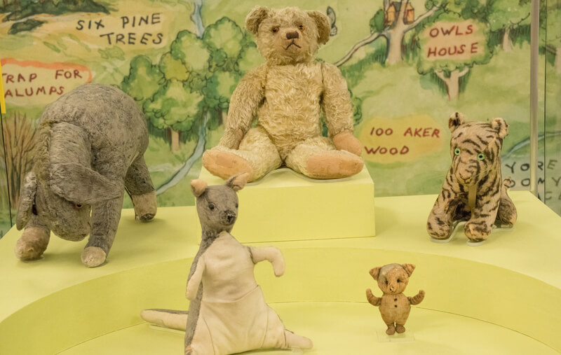Winnie-the-Pooh and Friends at the New York Public Library