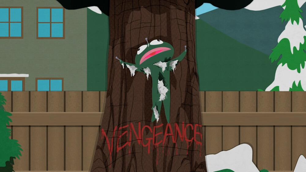 Beroemde Knuffels - Clyde Frog uit South Park