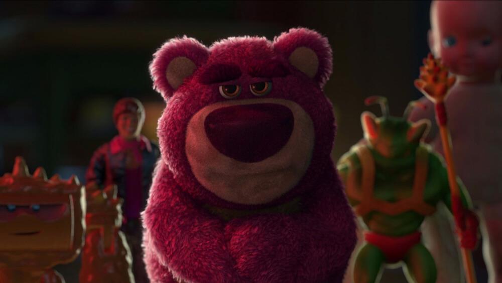 Beroemde knuffels - Lotso uit Toy Story 3