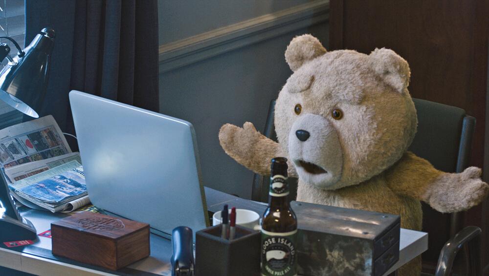 Beroemde knuffels - Ted uit Ted