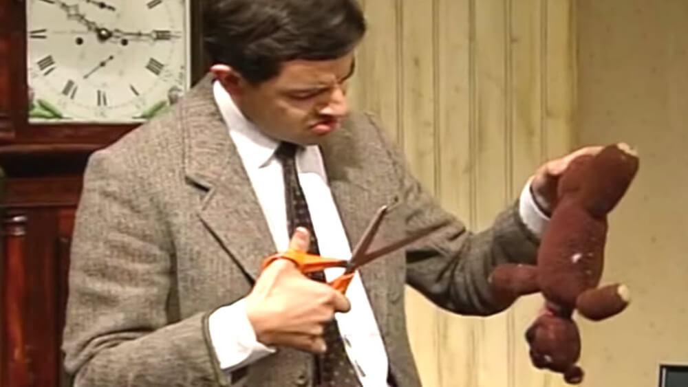 Beroemde knuffels - Teddy uit Mr. Bean