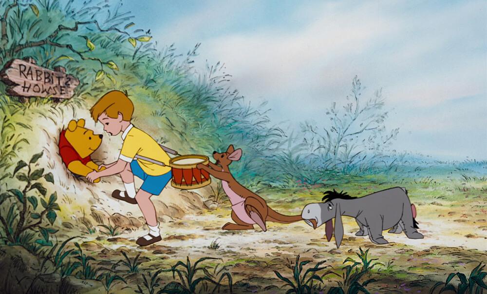 Beroemde knuffels - Winnie de Poeh uit Winnie-the-Pooh and the Honey Tree