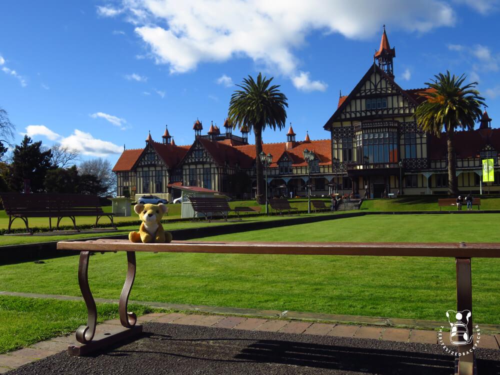 Fluffy at the Rotorua Museum