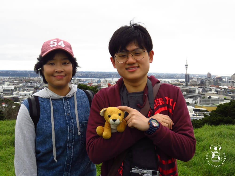 Fluffy in Auckland with Fay & Mai
