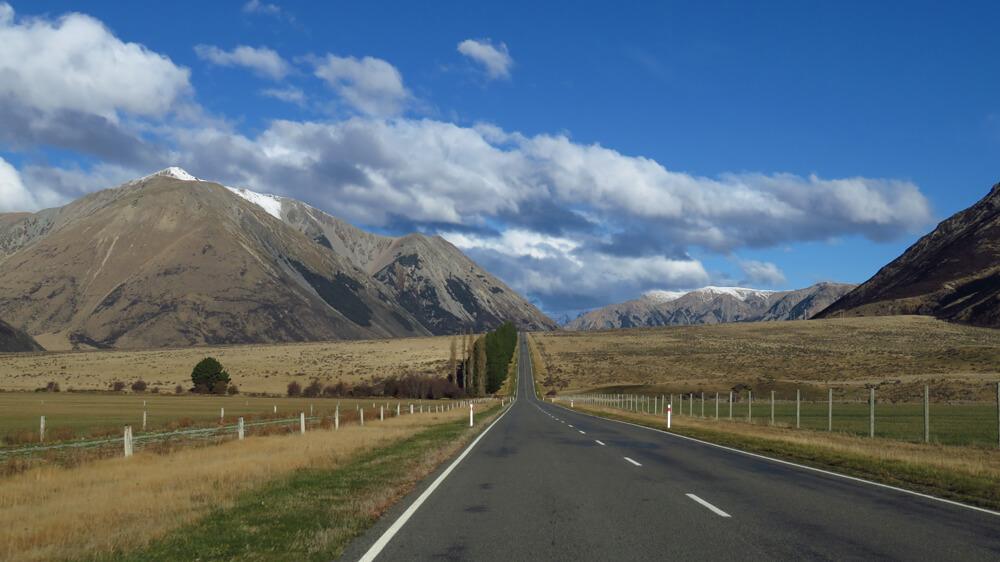 Hitchhiking South Island