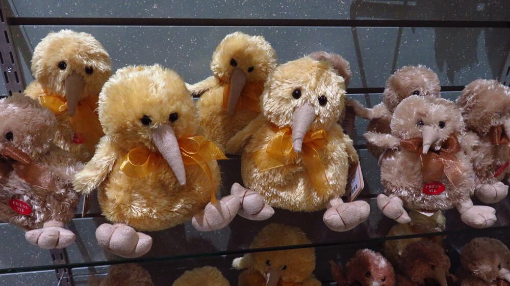 Kiwi plushies