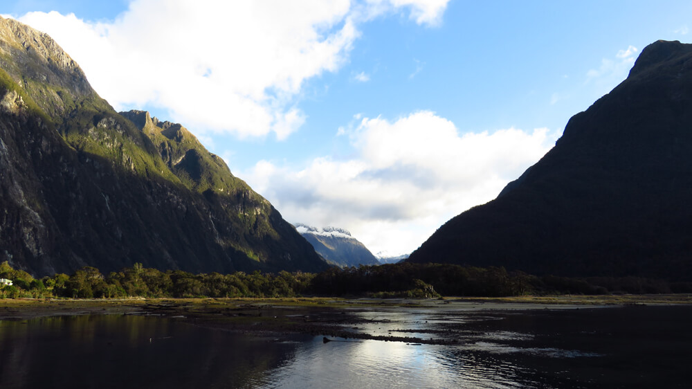 Milford Sound, one of South Island's most magnificent fjords