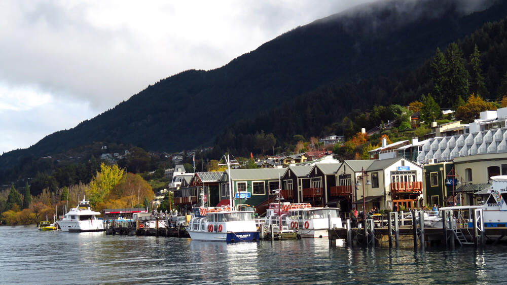Queenstown is one of the most beautiful towns in New Zealand