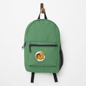 The Bite-Sized Backpacker - Merchandise - Illustration - Backpack 01