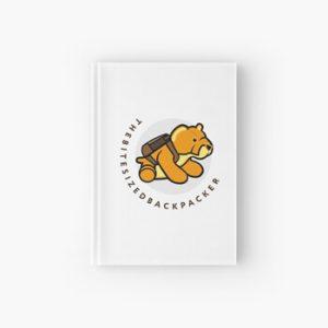 The Bite-Sized Backpacker - Merchandise - Illustration - Hardcover Dagboek 01