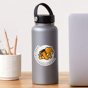 The Bite-Sized Backpacker - Merchandise - Illustration - Sticker 01