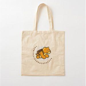 The Bite-Sized Backpacker - Merchandise - Illustration - Tote Tas 01