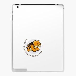 The Bite-Sized Backpacker - Merchandise - Illustration - iPad Hoesje 01