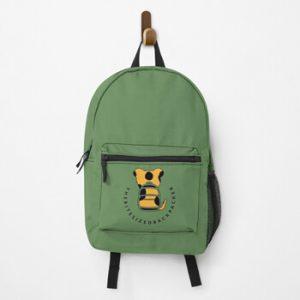 The Bite-Sized Backpacker - Merchandise - Logo Color - Backpack 01