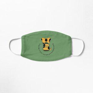 The Bite-Sized Backpacker - Merchandise - Logo Color - Mondkapje 01