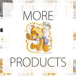 More Products - Design 'Manga'