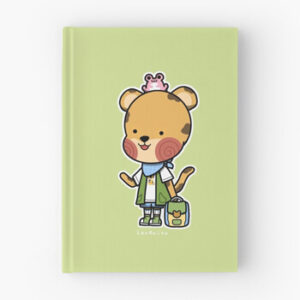 The Bite-Sized Backpacker - Merchandise - Kasa - Hardcover Dagboek 01