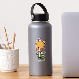 The Bite-Sized Backpacker - Merchandise - Kasa - Sticker 01