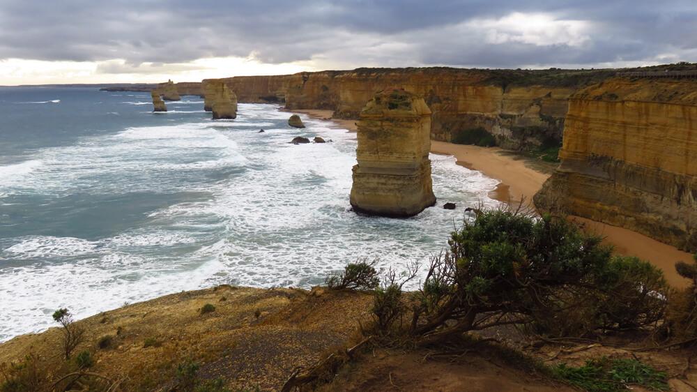 De ' Twelve Apostles' langs de Great Ocean Road