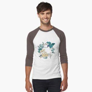Manami - Baseball Sleeve T-Shirt