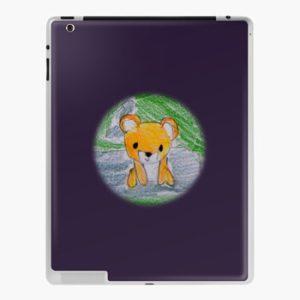The Bite-Sized Backpacker - Freshy (Background) - iPad Case & Skin