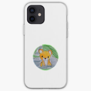 The Bite-Sized Backpacker - Freshy (Background) - iPhone Case & Cover