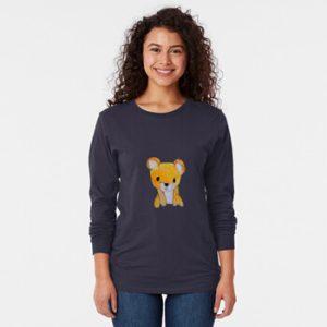 The Bite-Sized Backpacker - Freshy - Kleding - Long Sleeve T-Shirt