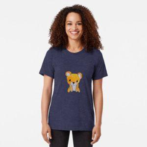 The Bite-Sized Backpacker - Freshy - Kleding - Tri-blend T-Shirt