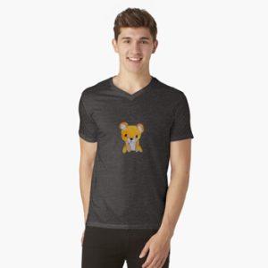 The Bite-Sized Backpacker - Freshy - Kleding - V-Neck T-Shirt