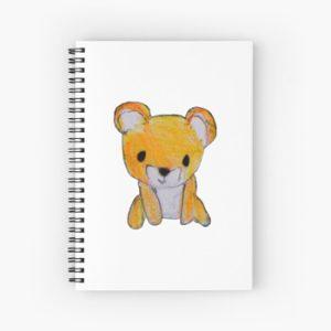 The Bite-Sized Backpacker - Freshy - Spiral Notebook